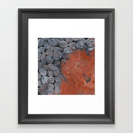 River of Lava Framed Art Print