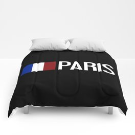 France: French Flag & Paris Comforters