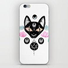 Moon Cat iPhone & iPod Skin