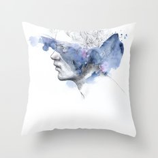 water show II Throw Pillow