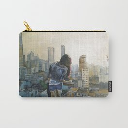 girl vs. city Carry-All Pouch