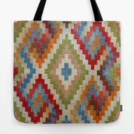 kilim rug pattern Tote Bag