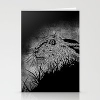 hare Stationery Cards featuring Hare by hardy mayes