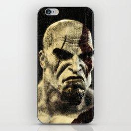 kratos iPhone Skin