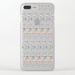 Tipsy Tulip Too Clear iPhone Case