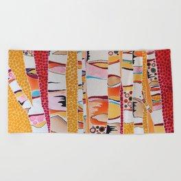 Marmalade Morning Beach Towel