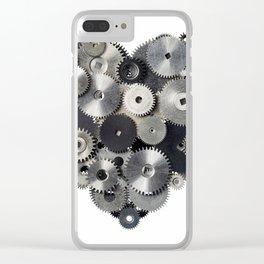 Mechanical heart Clear iPhone Case