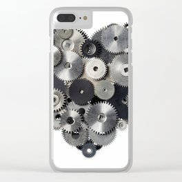 Mechanical heart Clear iPhone Case