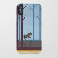 woods iPhone & iPod Cases featuring Woods by Kakel