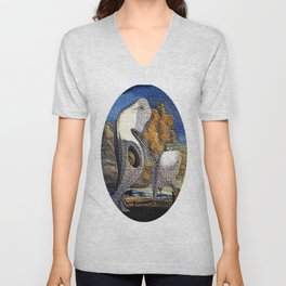 Dali Inspiration Unisex V-Neck