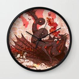Dragonslayer II Wall Clock