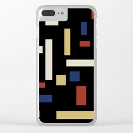 Abstract Theo van Doesburg Composition VII The Three Graces Clear iPhone Case