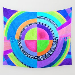 Meditation Mandala Wall Tapestry