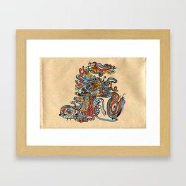 UPDATE 1.0 Framed Art Print