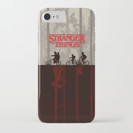 A little too strange iPhone Case