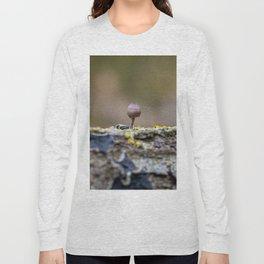 The tiny mushroom Long Sleeve T-shirt