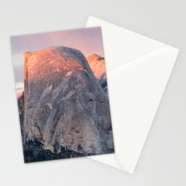 Yosemite's Half Dome during Summer Sunset Stationery Cards