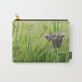 phacelia in a barley field Carry-All Pouch