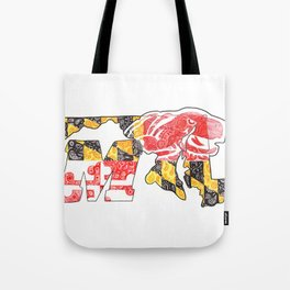 M for Maryland Tote Bag