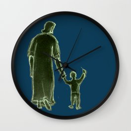 In My Father's House Wall Clock