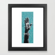 the greatest americans have not been born yet... Framed Art Print