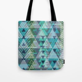Triangle Tribe 3 Tote Bag