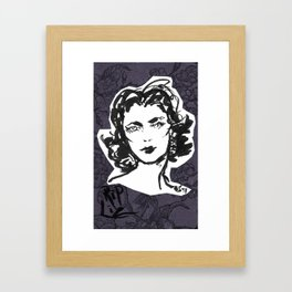 La Liz Framed Art Print