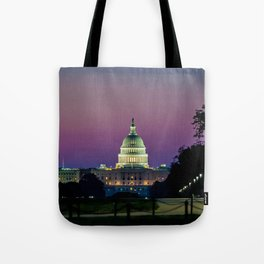 Dawn on The Hill Tote Bag