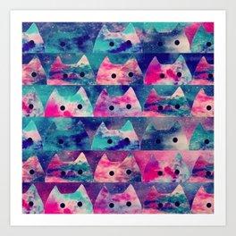 cats 37 Art Print