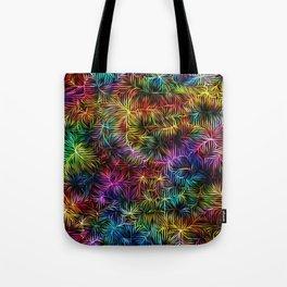 Rainbow Weaving Tote Bag