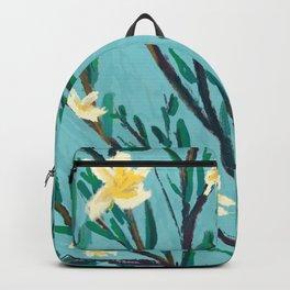 Spring White Blossom Backpack