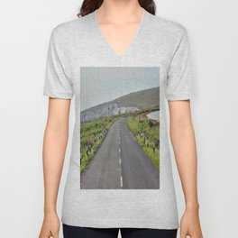 Road to the Hills Unisex V-Neck