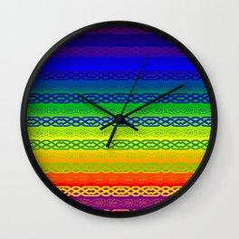 Freedom (rainbow) Wall Clock