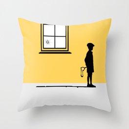 Bad kid Throw Pillow