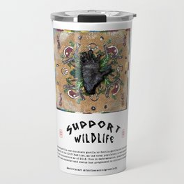 Silver stripped for Gold (2018) Travel Mug