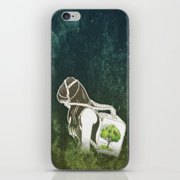 The Last Breath on Earth(SAVE THE FOREST)  iPhone Skin