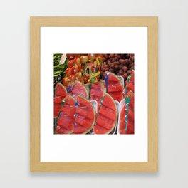 Sandías Framed Art Print