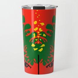 Exhibition Poster Sofu Teshigahara Flower Arrangement Kamekura Travel Mug