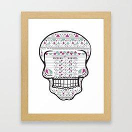 Skull #2 Framed Art Print