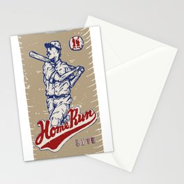 Home Run Lite Stationery Cards