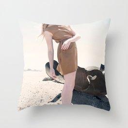 Sea Heels Throw Pillow