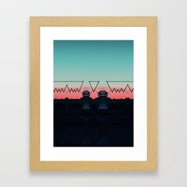 different dimension Framed Art Print