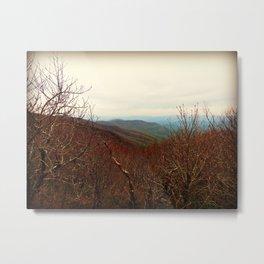 Mountaintop Hideaway Metal Print