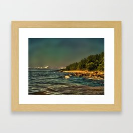 Baltic Sea Vidzeme coast Framed Art Print