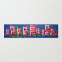 houses of the block 1 Canvas Print