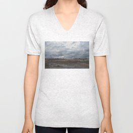 Crane in the Swamp Unisex V-Neck