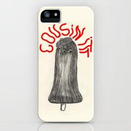 Cousin Itt iPhone Case