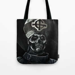 Ghost // Papa Emeritus Tote Bag