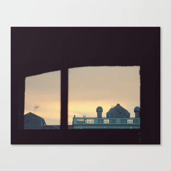 Lo inesperado Canvas Print