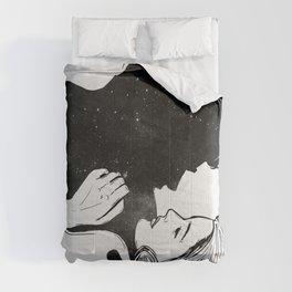 I see you. Comforters